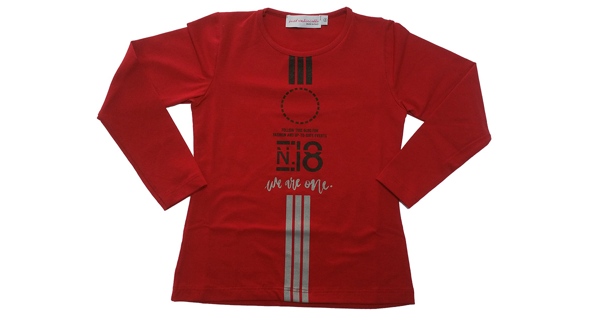 T-SHIRT RAGAZZA ML 17.00€