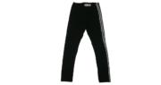 LEGGINGS RAGAZZA C/BANDA PAILLETTES VM18 8-18A ART.19M061