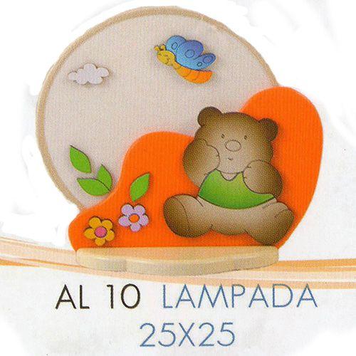 AQUAREL LAMPADA €.60,00