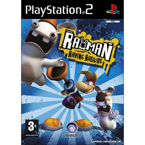 GAME PLAYSTATION 2 RAYMAN RAVING RABBIDS COD.0471