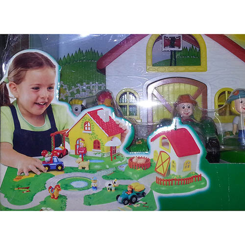 CHICCO FATTORIA CASETTA PLAY VILLAGE  €.36,00