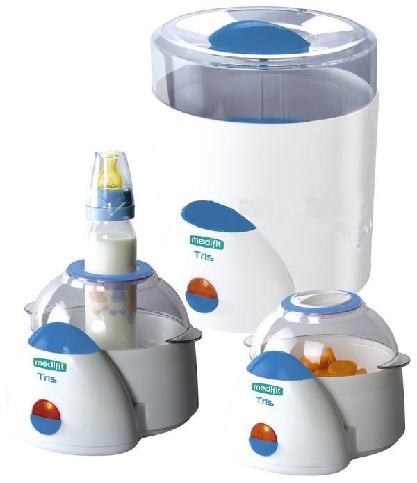 MEDIFIT Tris Sterilizzatore a vapore €.50,00