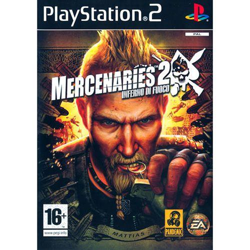 GAME PLAYSTATION 2 Mercenaries 2 Inferno Di Fuoco COD.+08934