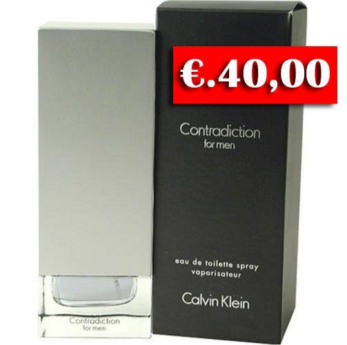 CK CONTRADICTION UOMO EDT 50ML €.40,00